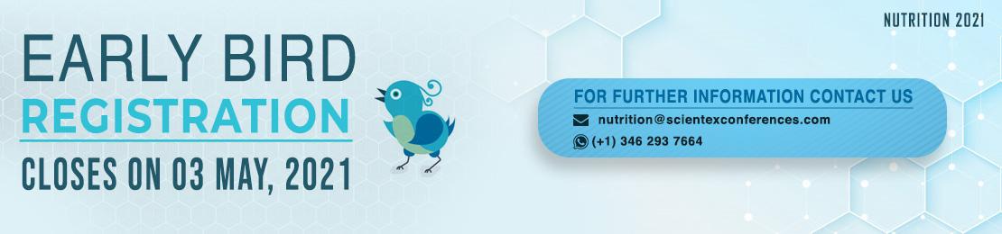 Nutrition 2021 Early Bird